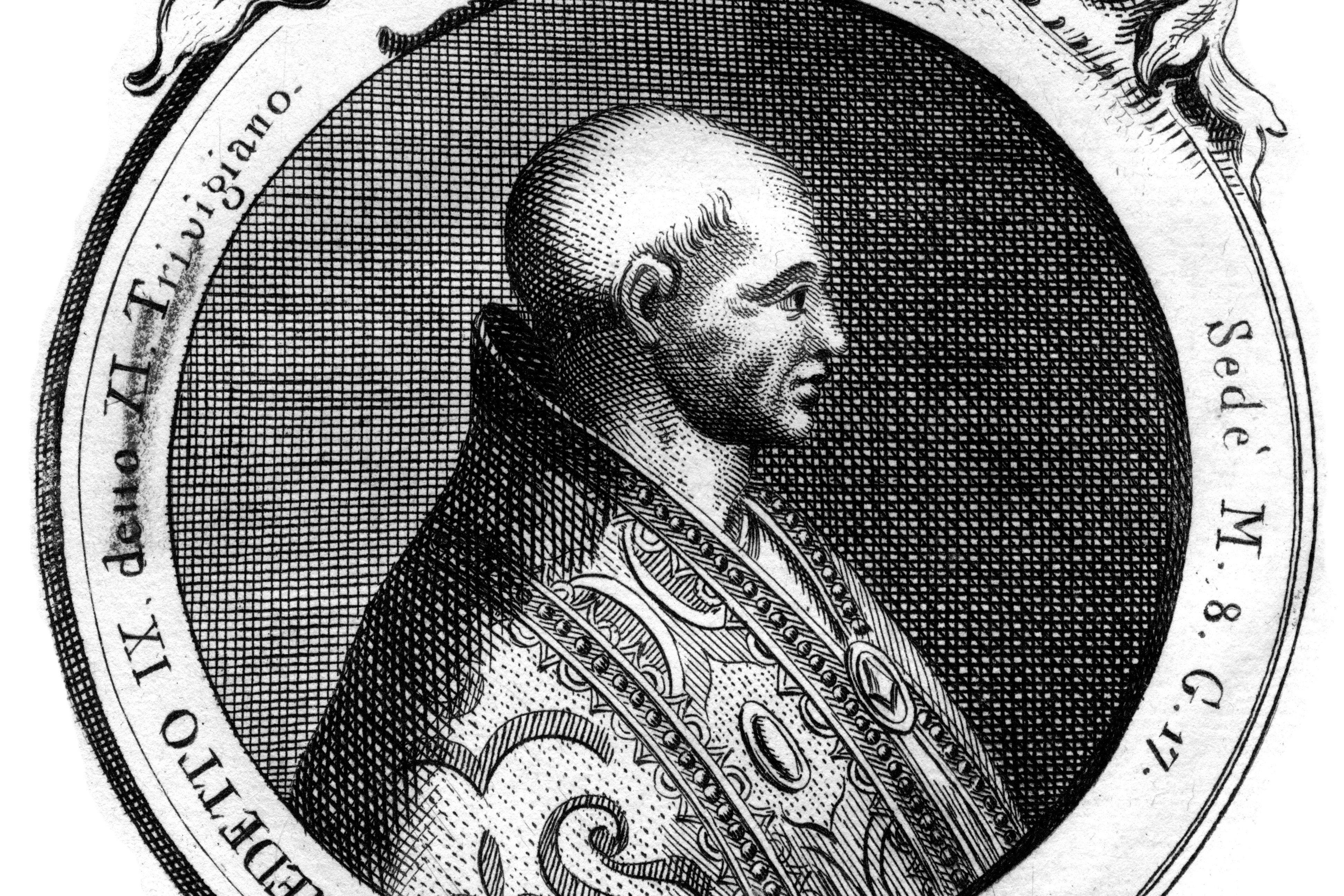 Benedict IX, Πάπας της Καθολικής Εκκλησίας.