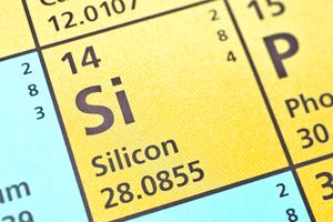 Silicon on periodic table