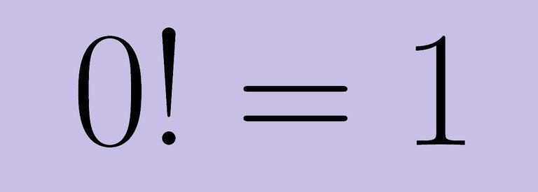 Zero factorial