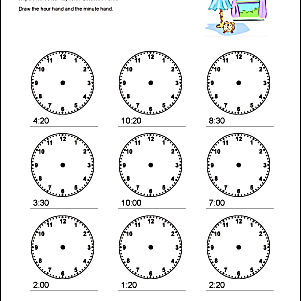 These math worksheets help students tell time to 10 five and one minute print the pdf telling time to 10 minutes ibookread Read Online