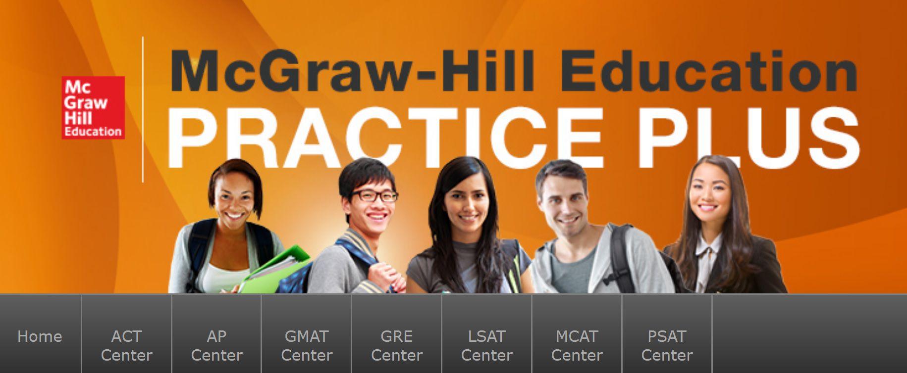 McGraw-Hill Education Practice Plus Screen Grab