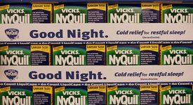 Vicks NyQuil boxes