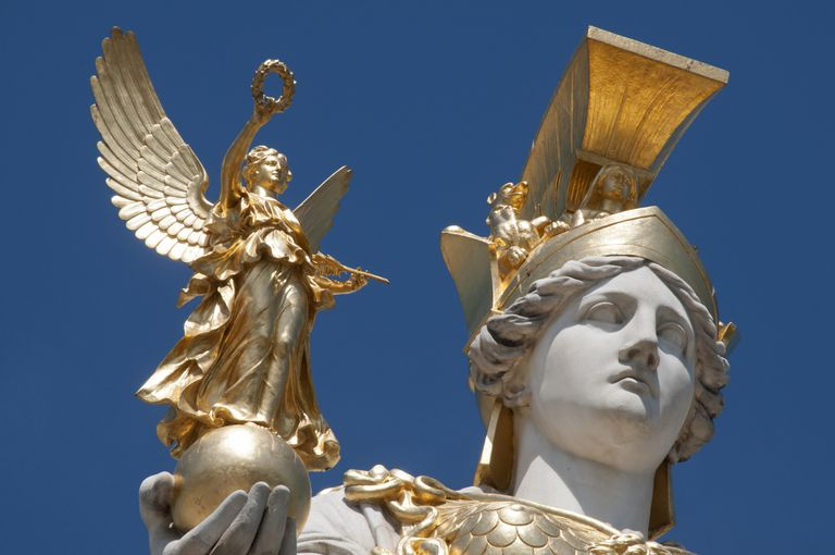 athena greek goddess of wisdom and war