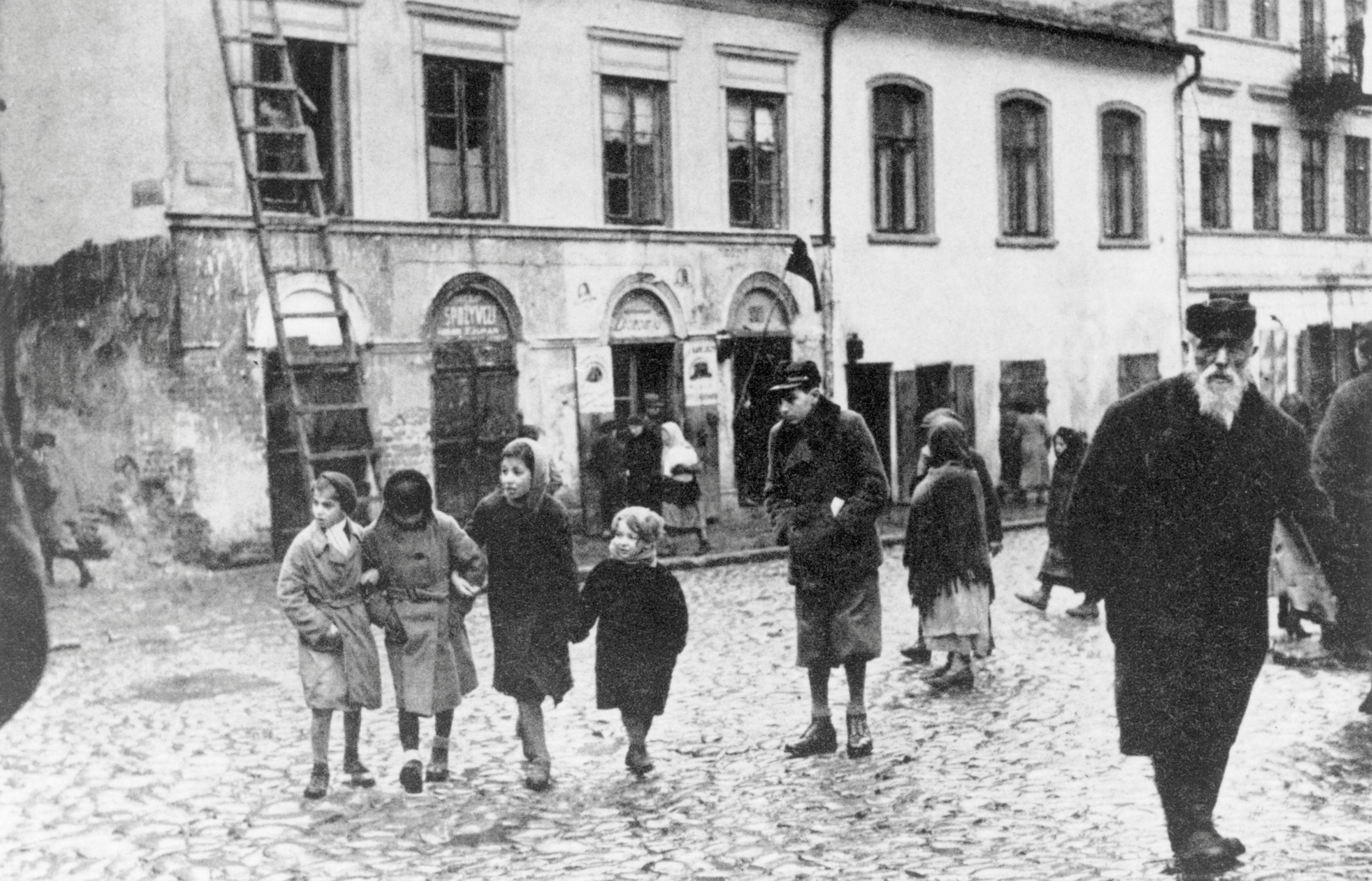 Lublin Ghetto in Poland