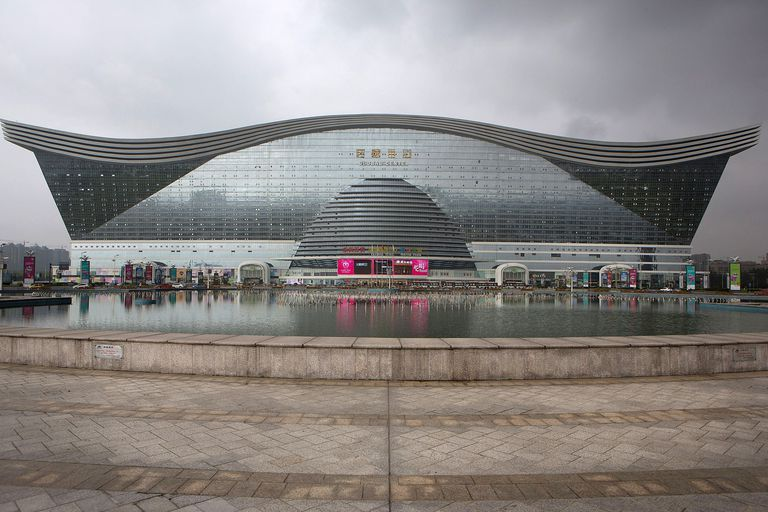 Largest Building In The World Is In China