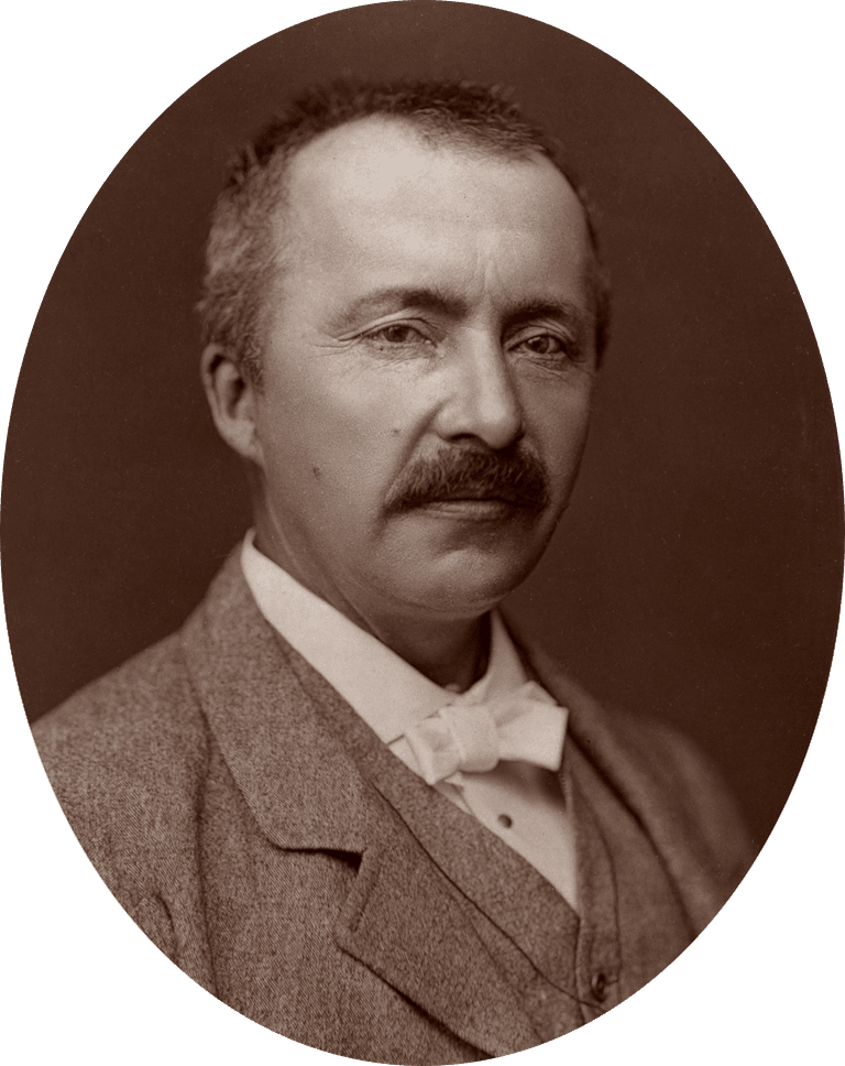 Heinrich Schliemann, Excavator of Troy, 1877
