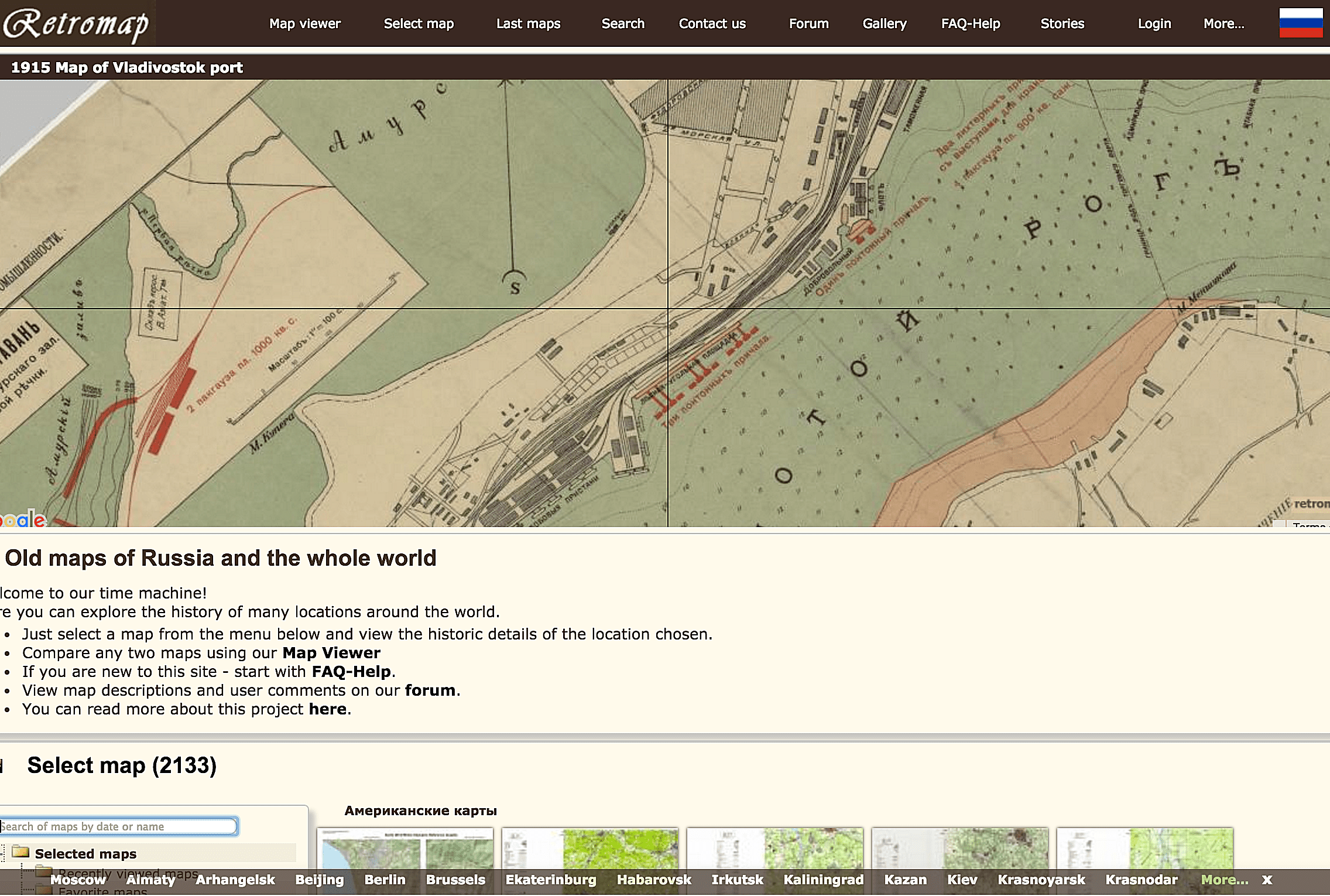 Historical map overlays for google maps and google earth gumiabroncs Gallery