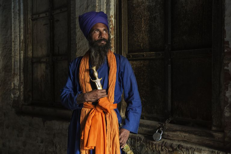 Portrait of a Nihang Sikh