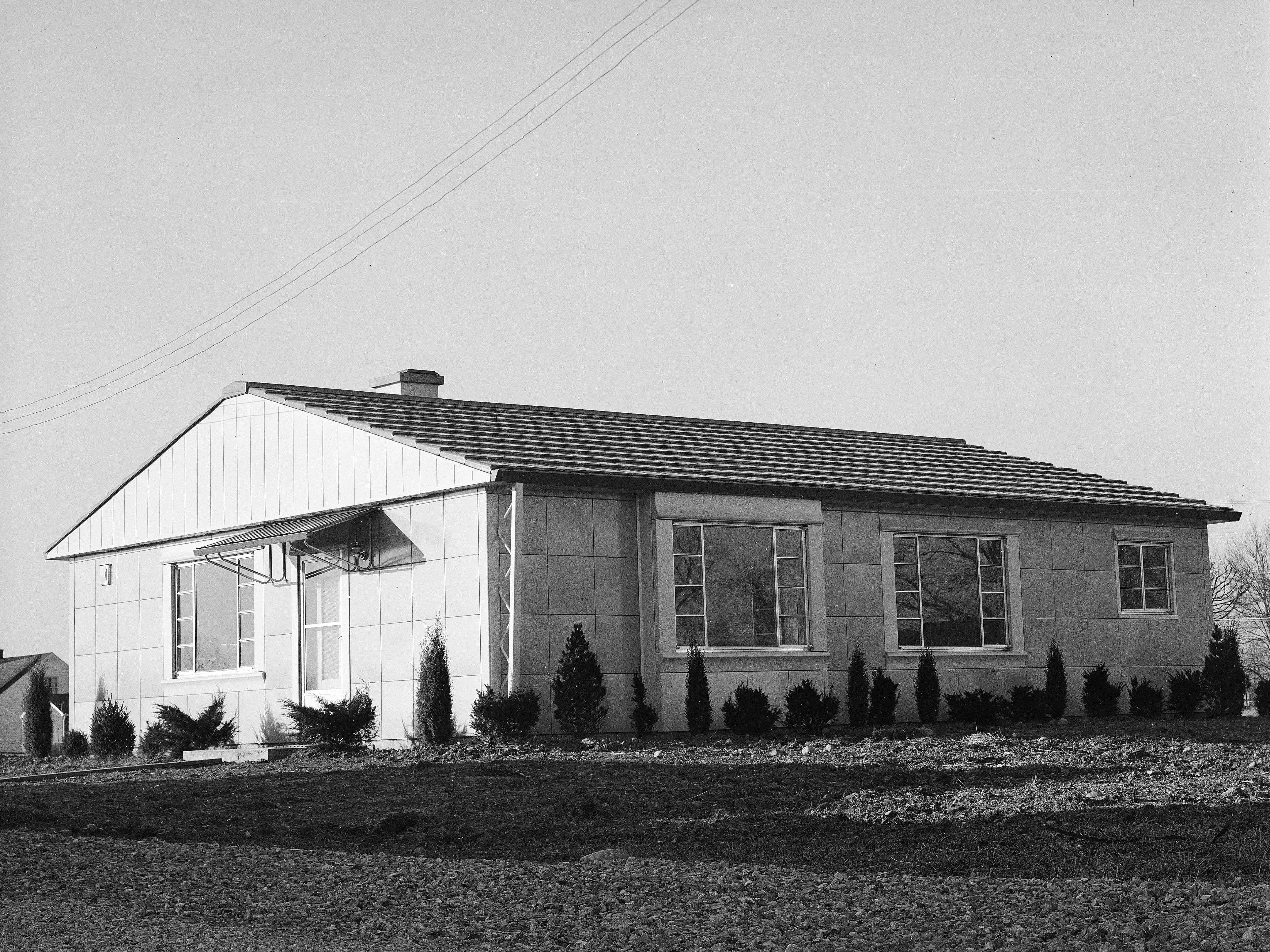 Lustron Pre-Fab House