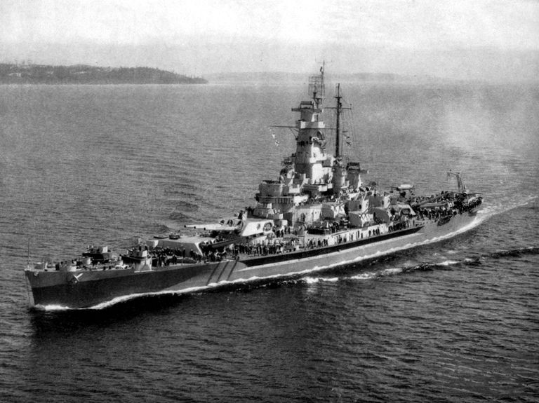 USS Massachusetts (BB-59), 1944