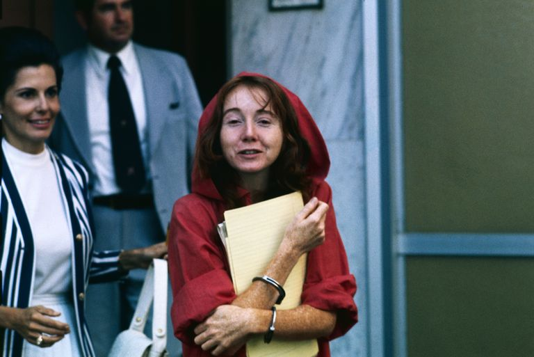 Manson Cult Member Lynette Fromme Leaving Courthouse