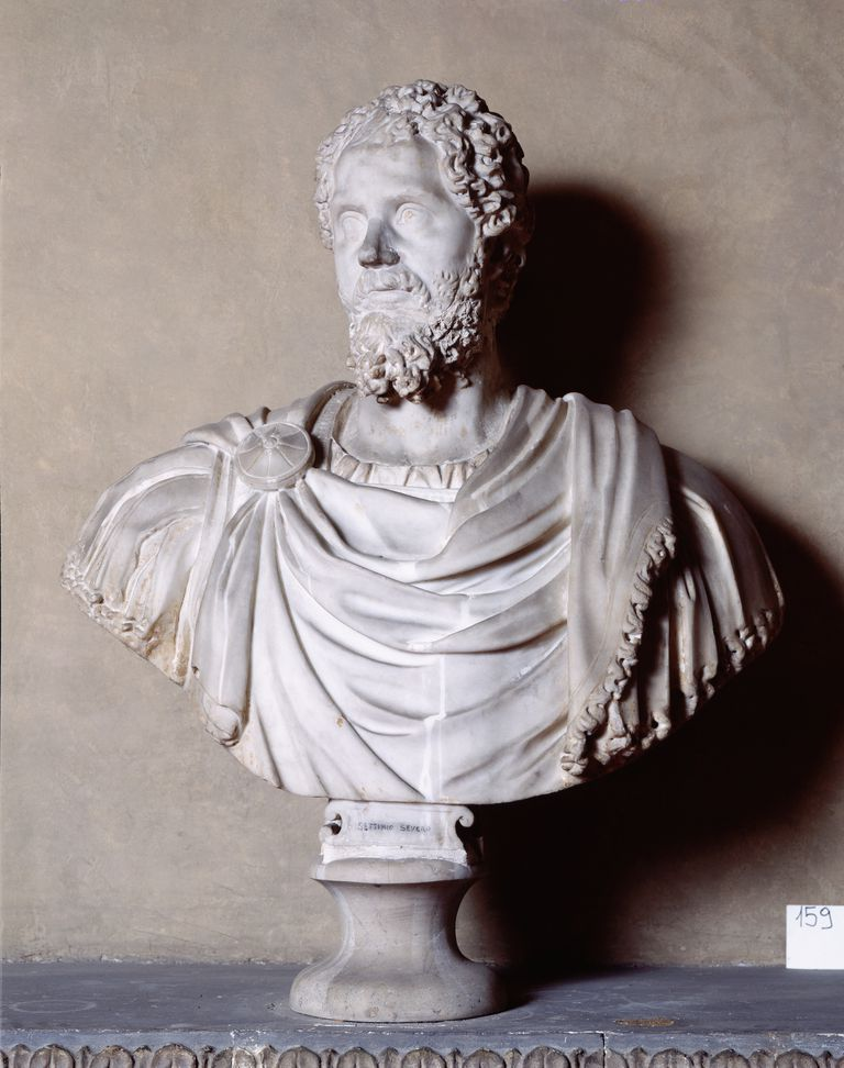 Sculpture Bust of Septimus Severus