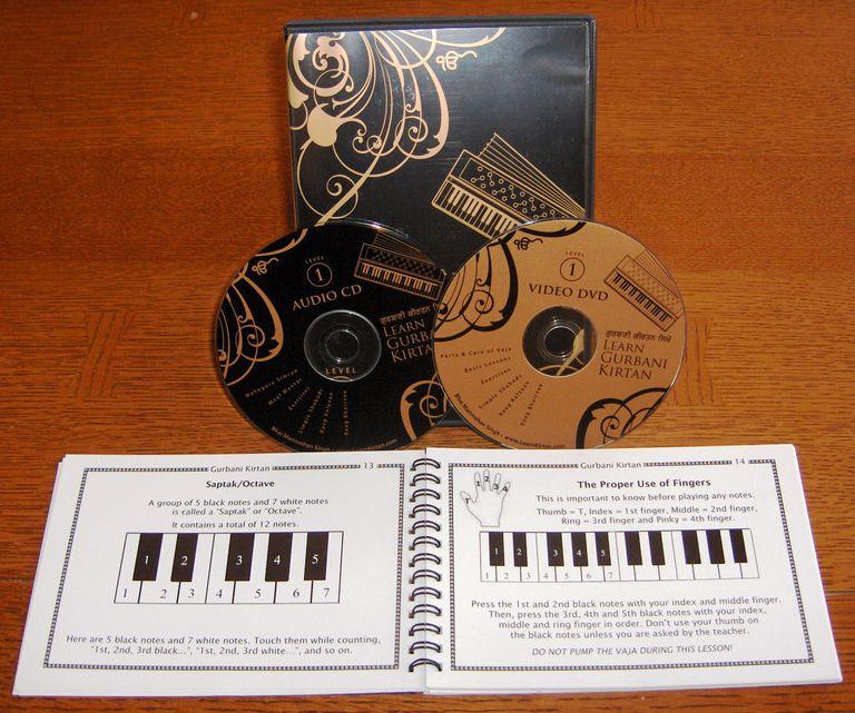 Learn Gurbani Kirtan (Booklet, DVD, Audio CD)
