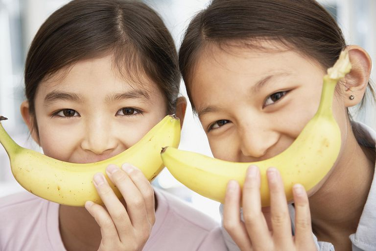 Girls with Bananas