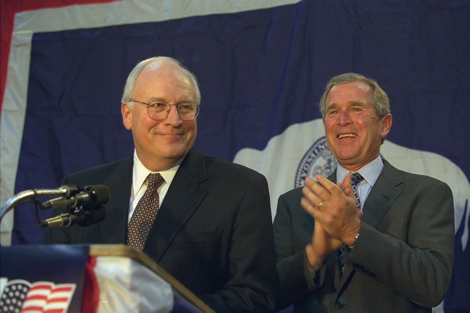 Dick Cheney and George W. Bush