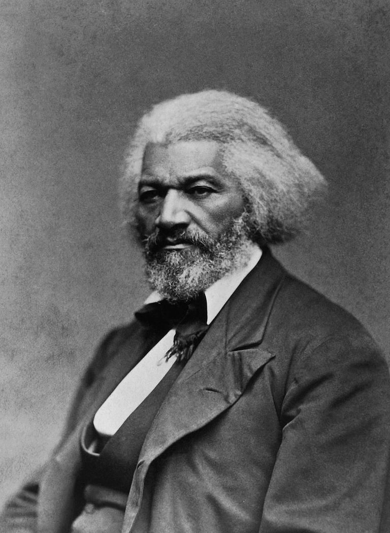 Frederick Douglass (1817-95), American activist and orator