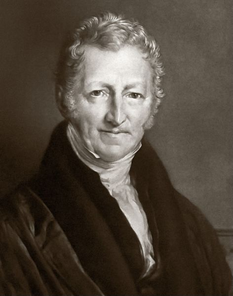 Thomas Malthus' work inspired Darwin
