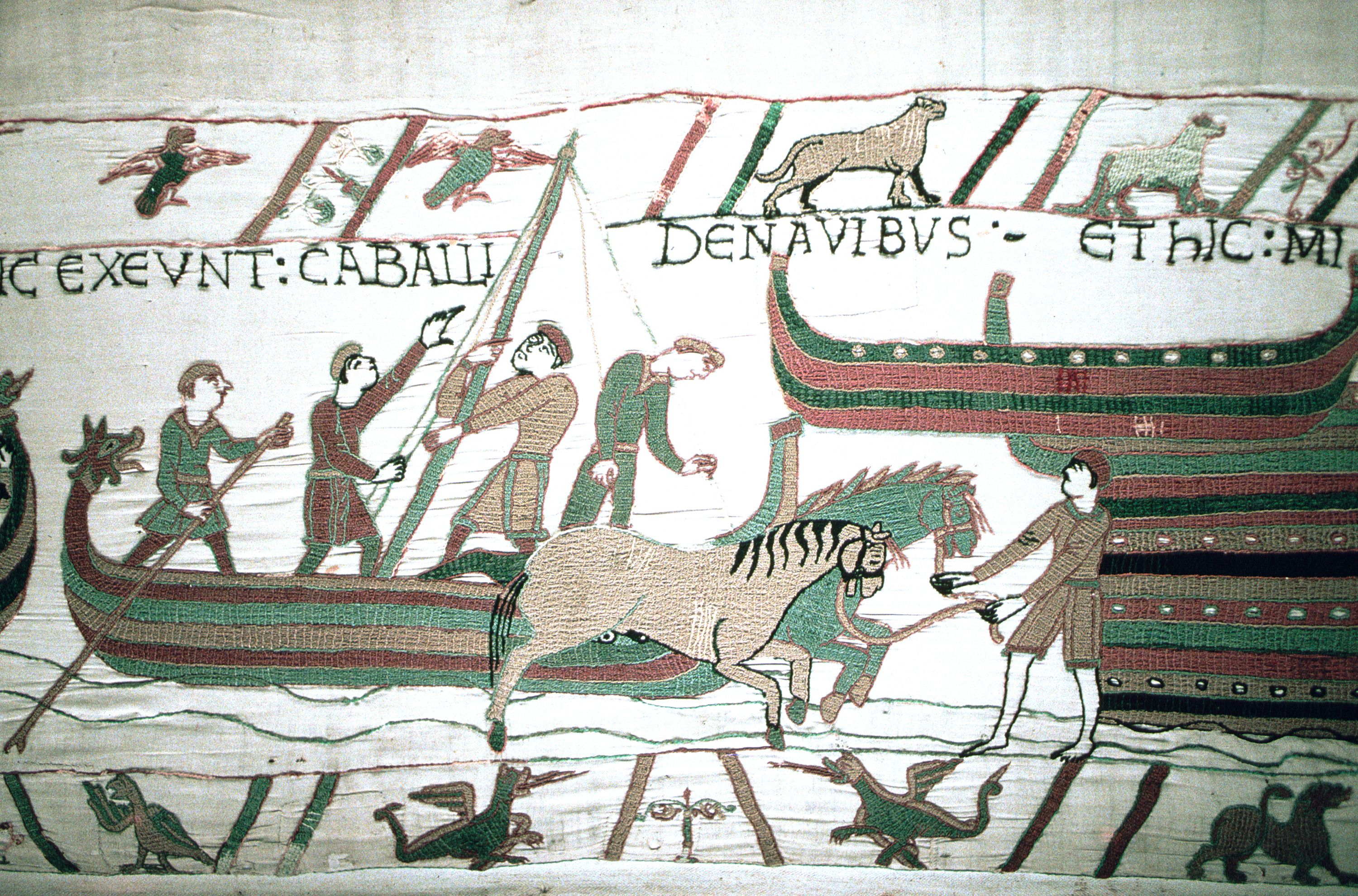 In September 1066, William of Normandy, also known as William the Bastard, set off across the Channel in his fleet of longboats.