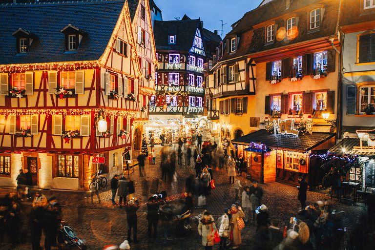 christmas in colmar alsace france - France Christmas