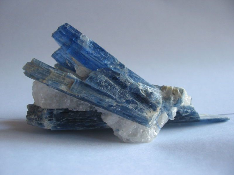 Crystals of kyanite.