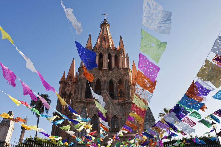 Cathedral in San Miguel de Allende