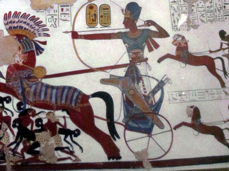 Ramses II in Battle