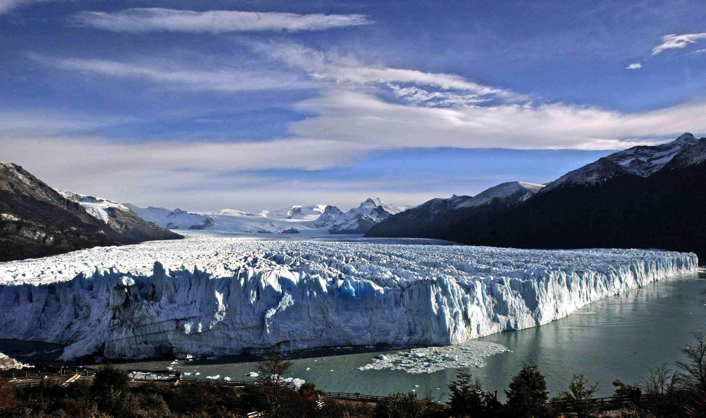 View of the glacier Perito Moreno
