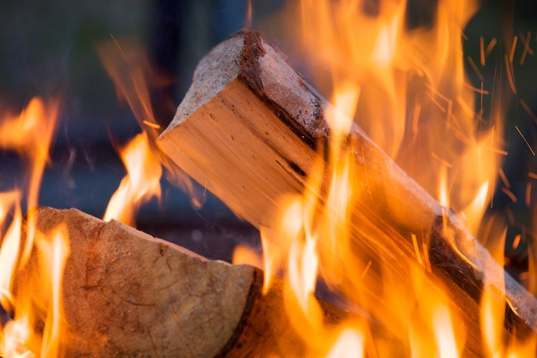 Wood is a source of chemical energy, which may be released during a combustion reaction.