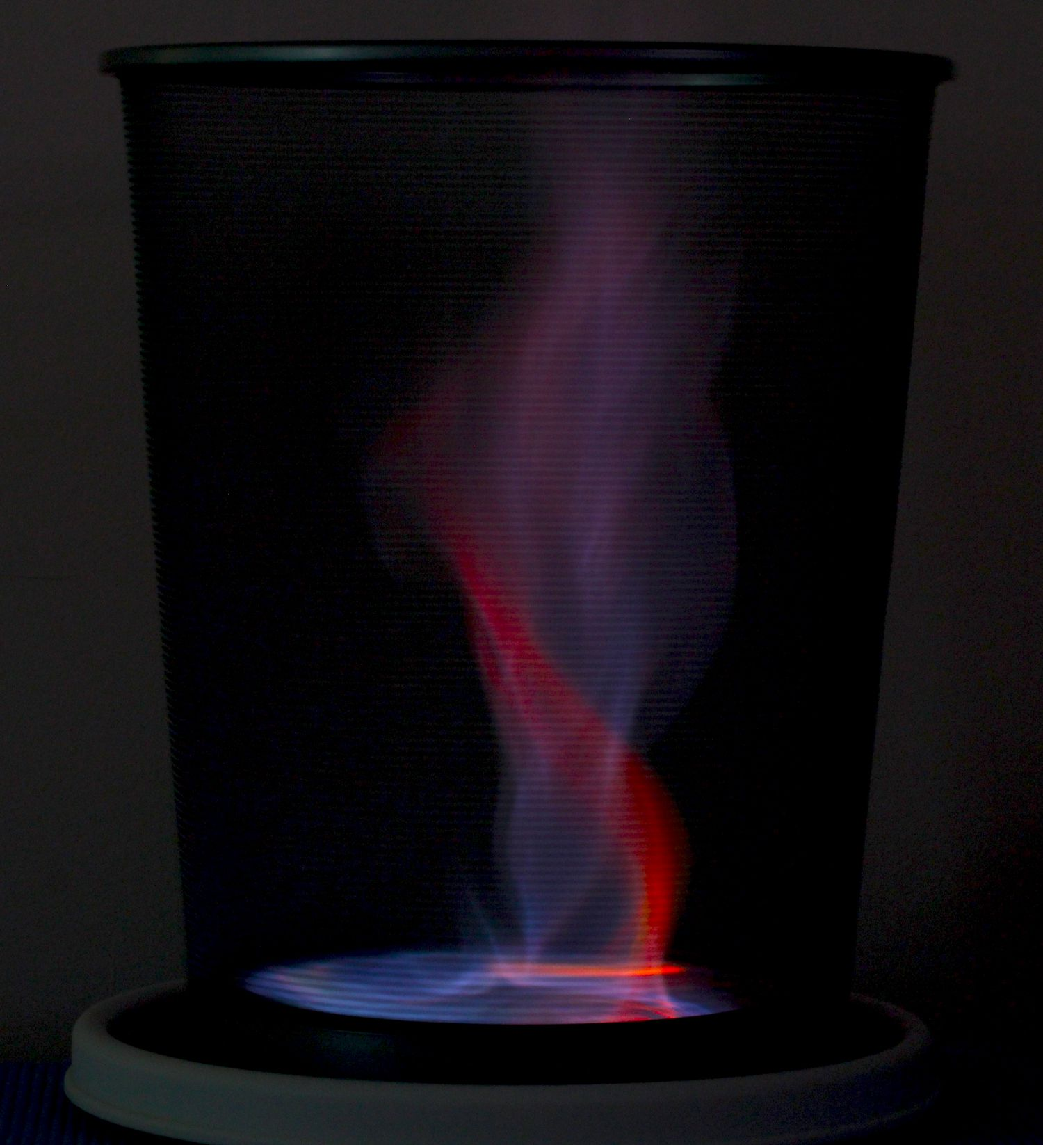 How To Make a Red and Blue Fire Tornado