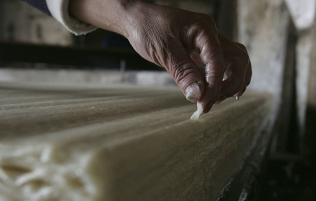 Mulberry Paper Making In Anhui Province