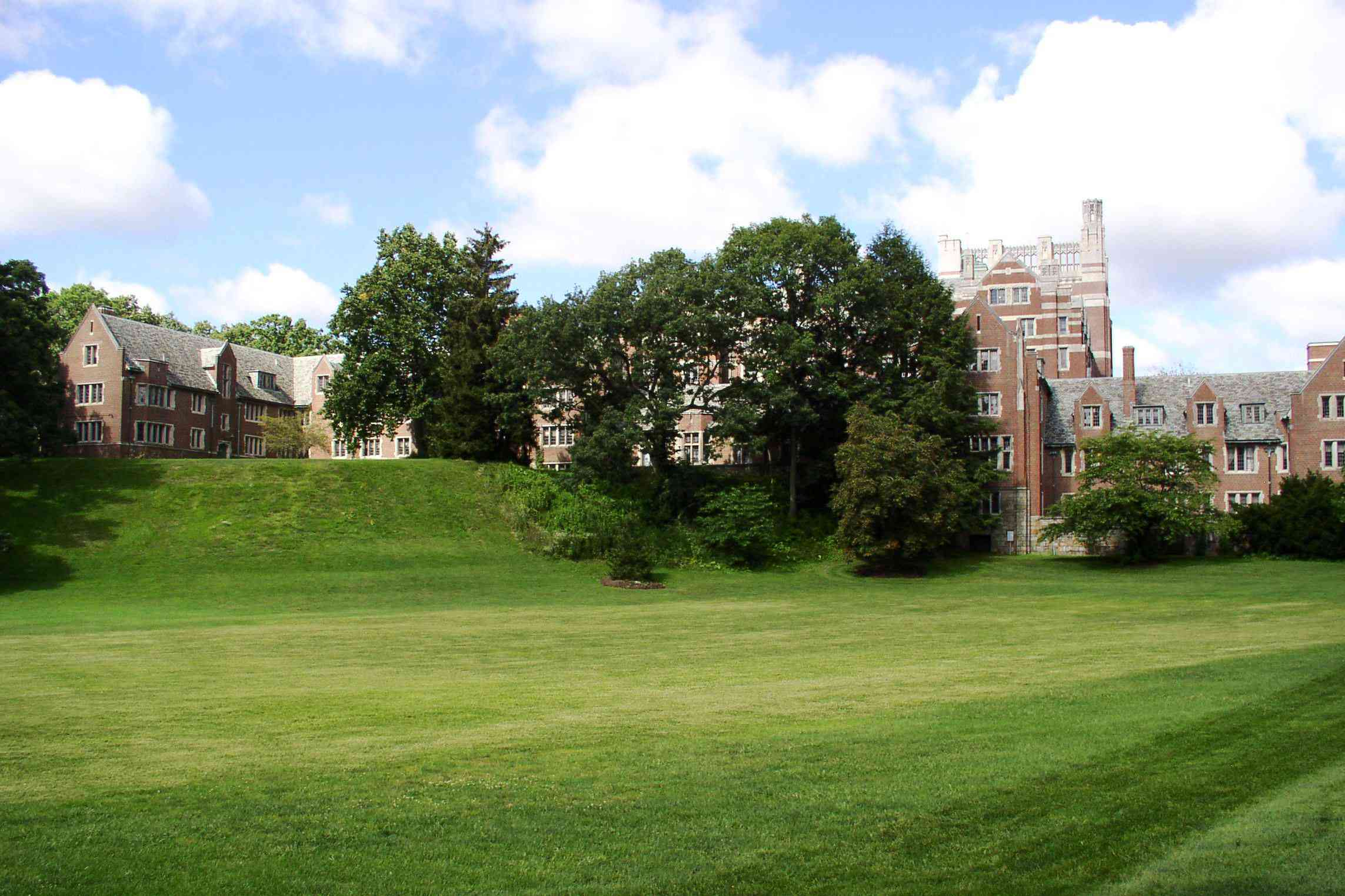 Tower Court and Severance Hall at Wellesley College