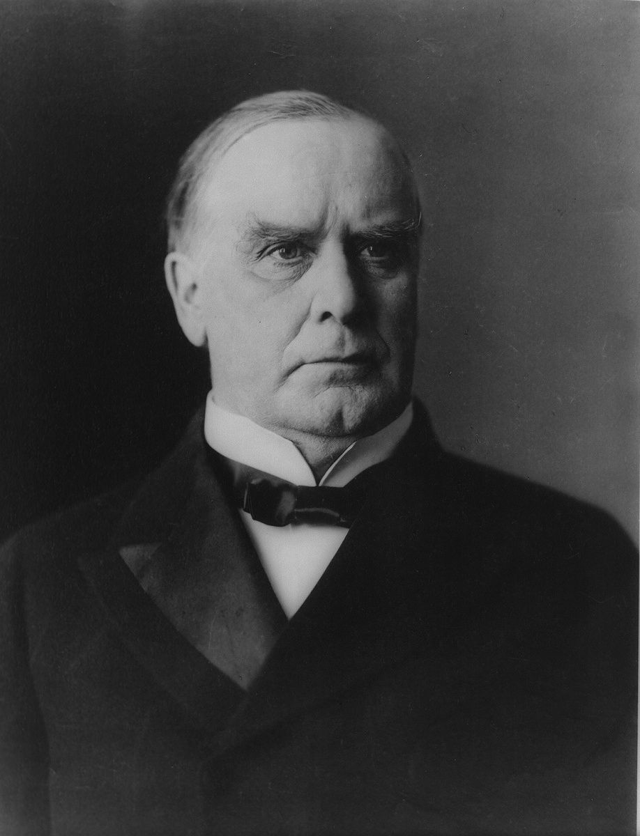 William McKinley, Twenty-Fifth President of the United States