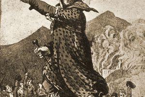 Illustration of mythical Luddite leader General Ludd