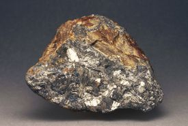 Specimen of Native Antimony