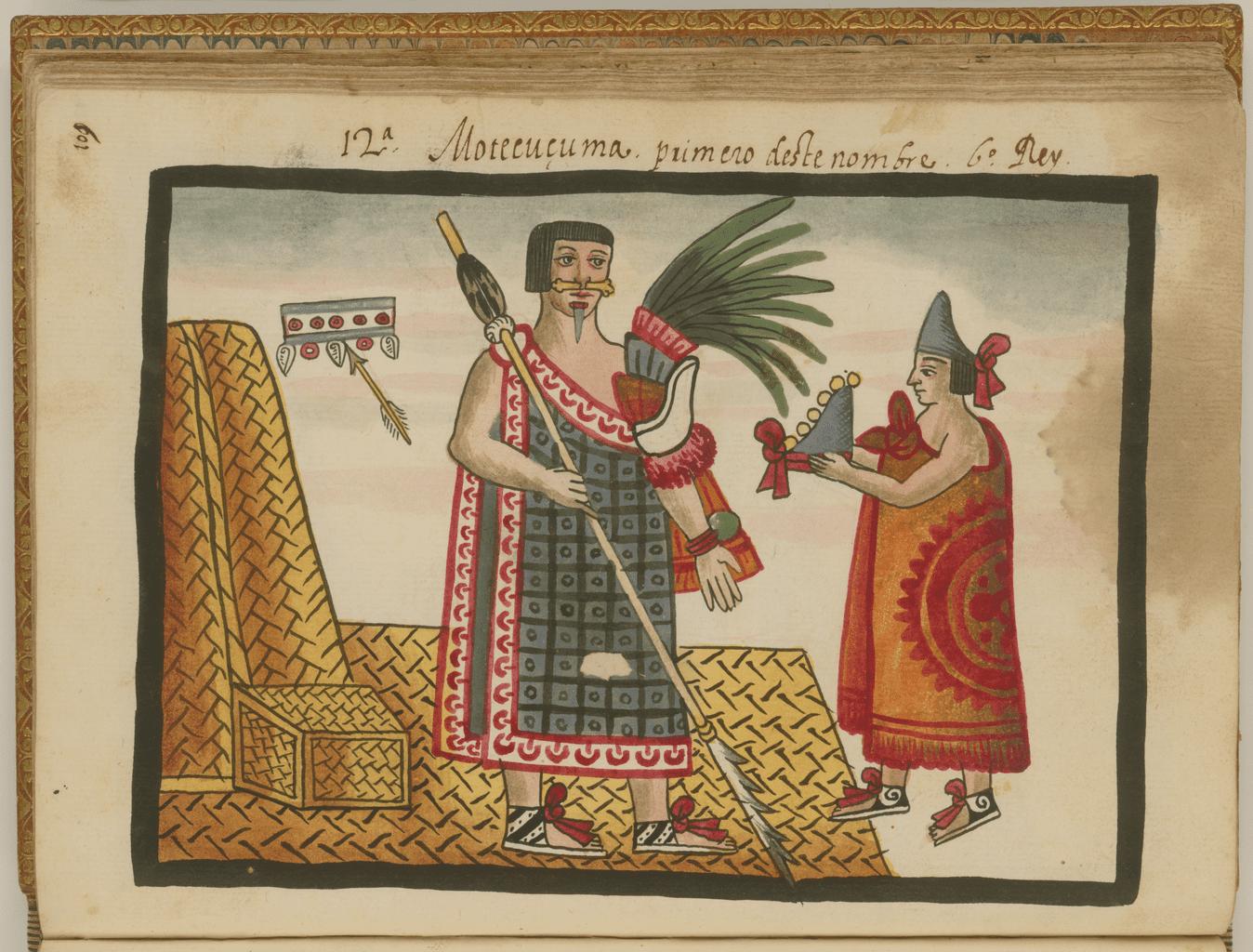Moctezuma I, Aztec Ruler 1440-1468