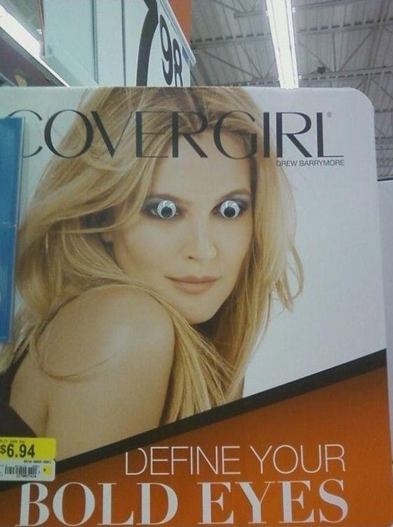 the art of eyebombing  just add googly eyes