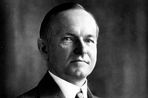 30th U.S. President Calvin Coolidge