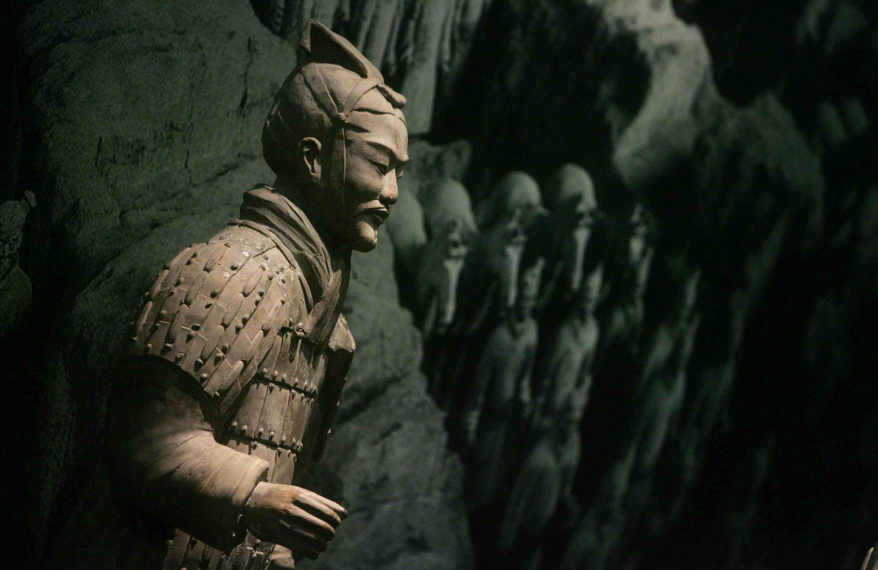 Han Dynasty Terracotta Soldier at Bejing Olympics