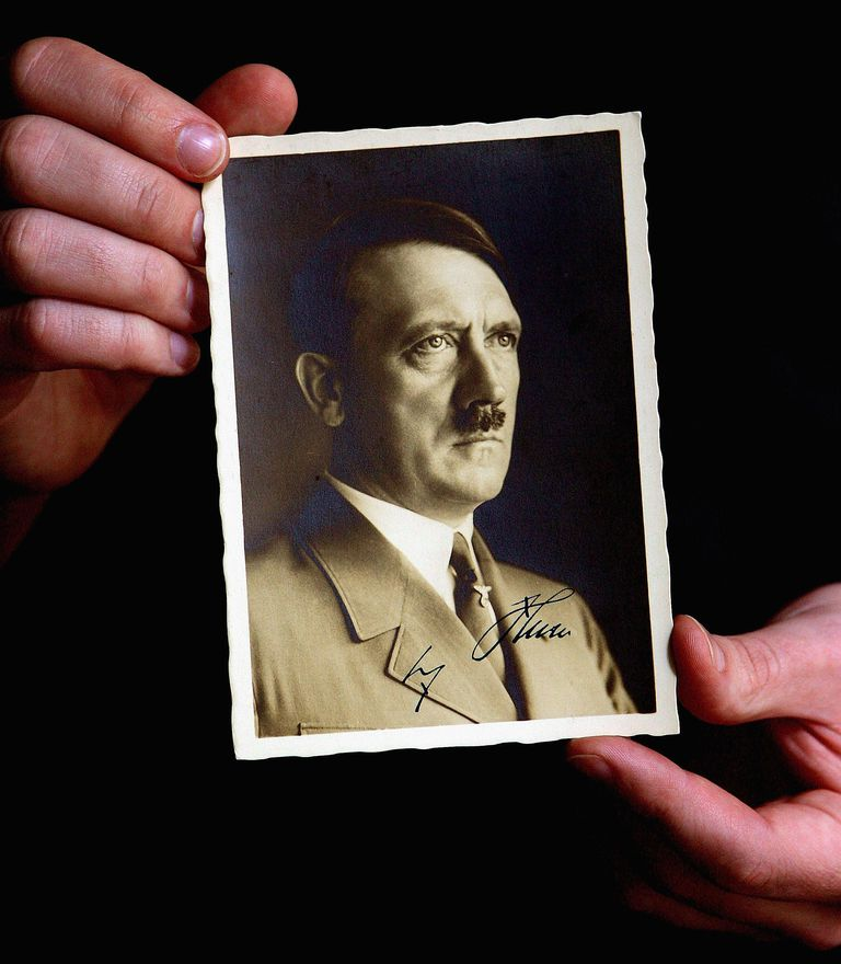 Preview Of A Signed Copy Of Mein Kampf To Auction