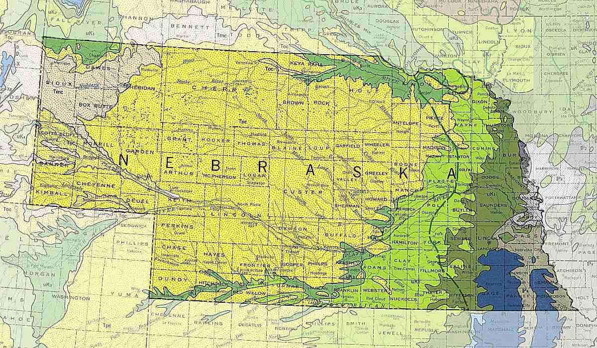 Nebraska's rocks
