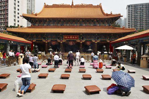 Taoist temple, Hong Kong