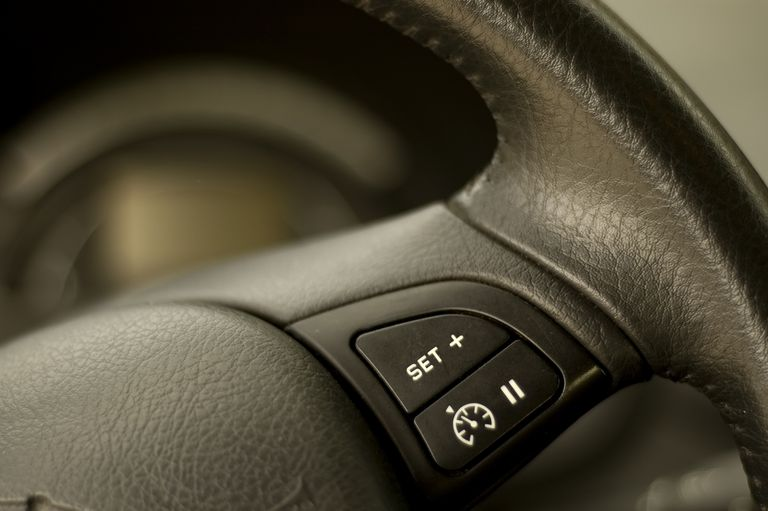 cruise control switch in a modern car