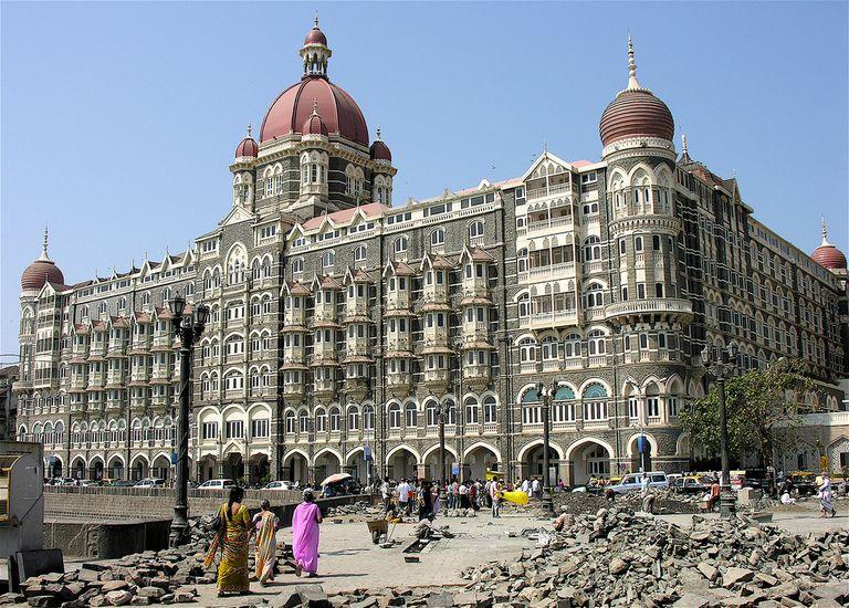 Taj Mahal Palace Hotel in Mumbai India
