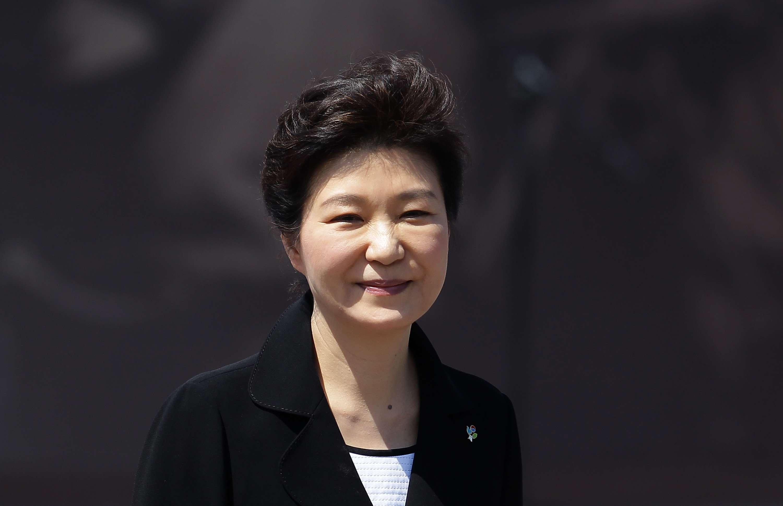 South Korean president Park Geun Hye