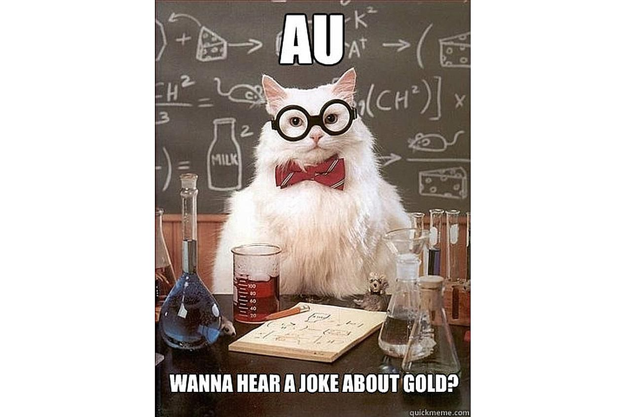 Chemistry Cat tries to get your attention.