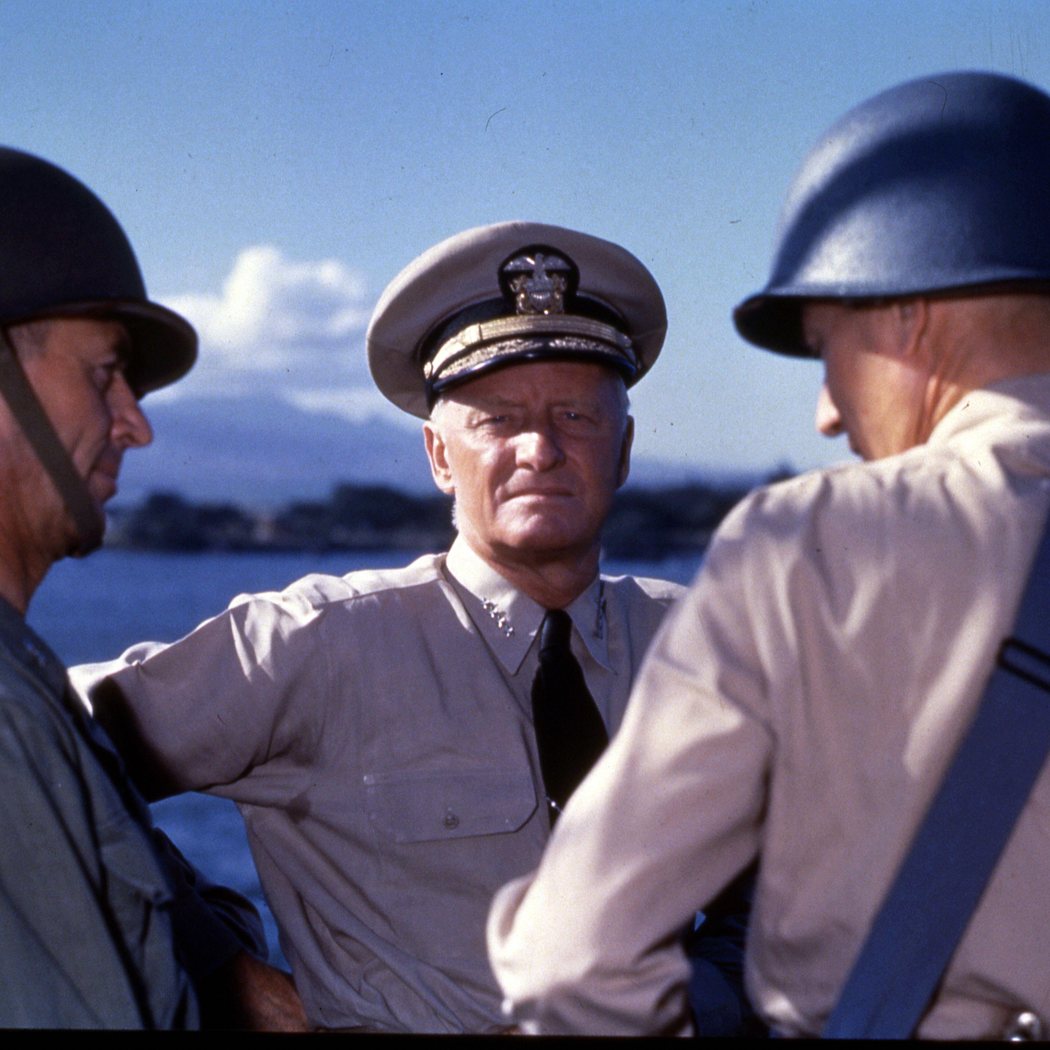 Top Five Navy Admirals of World War II