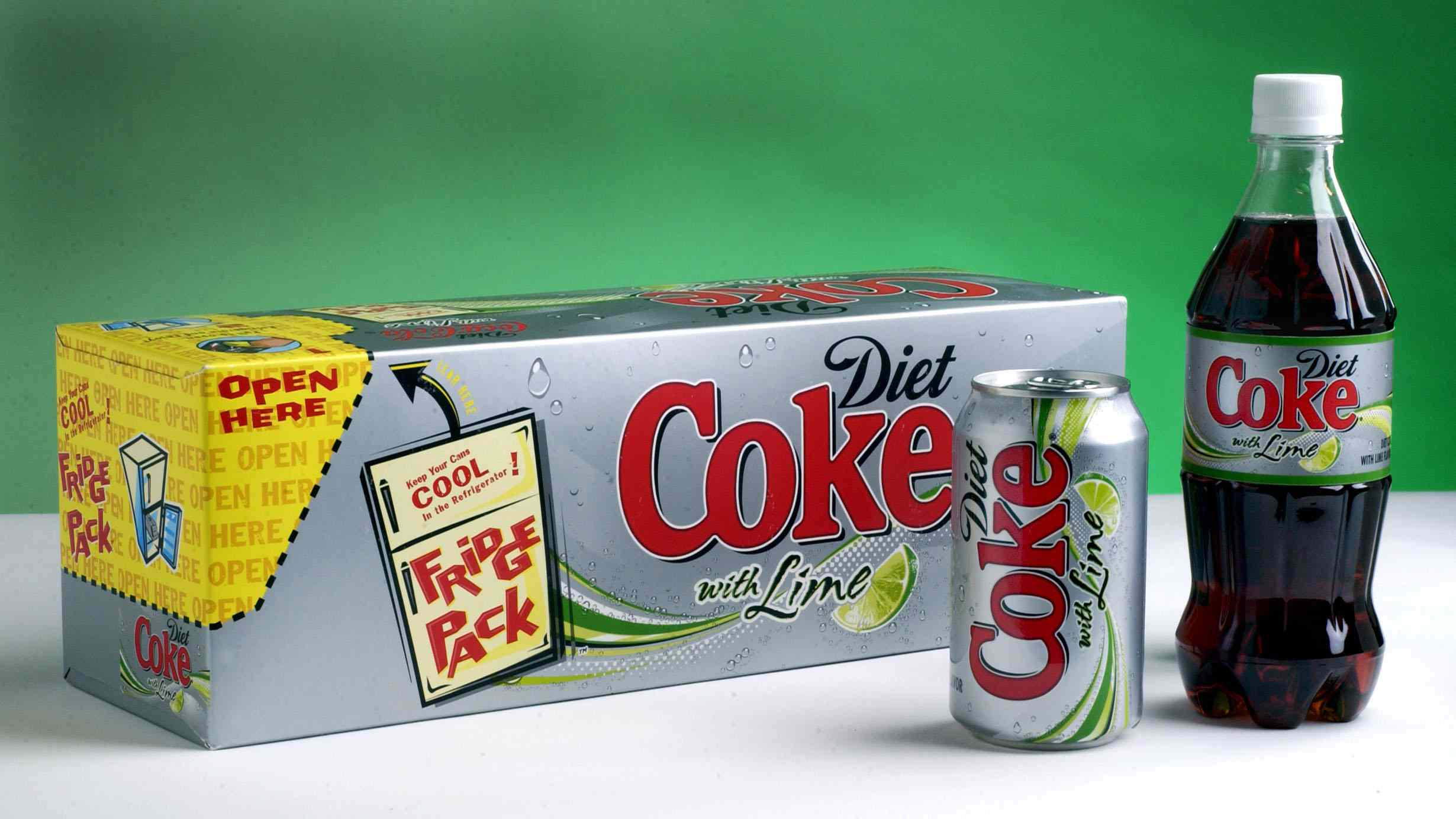 Diet Coke With Lime Group