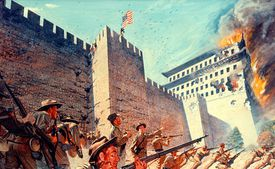 Attack on Peking during the Boxer Rebellion