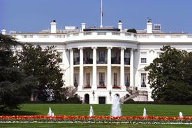 Facade of the White House