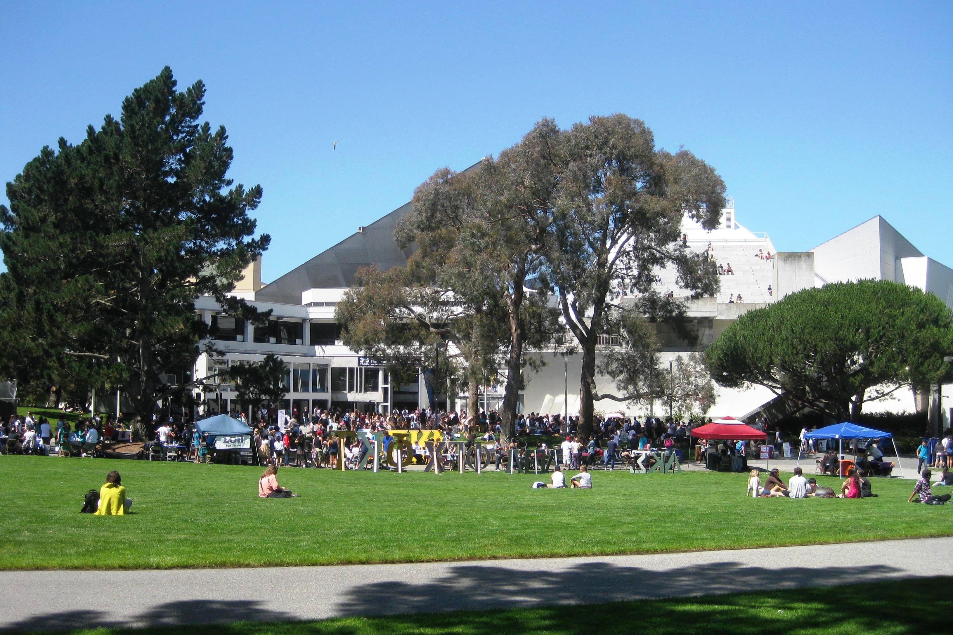 San Francisco State University Quad